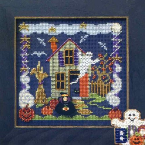 Free Counted Cross Stitch Charts (Boo House)