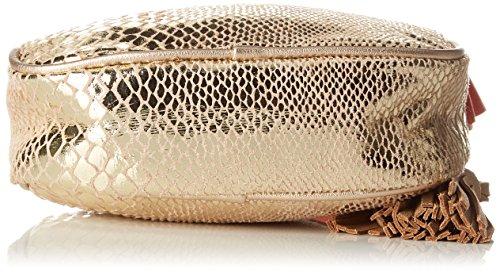 Bag Women's Round Bensimon Cross Body Bag Or Serpent Gold qxXRRdf