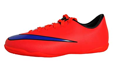 3ed1bada8 Amazon.com | Nike Youth Mercurial Victory V Indoor (Bright Crimson ...