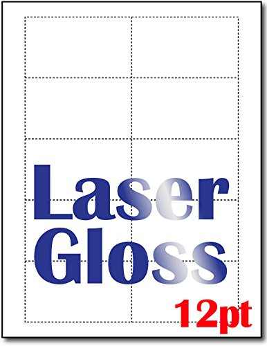 Desktop Publishing Supplies 12pt Extra Thick Laser Gloss ...