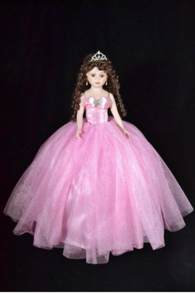 Amazon.com: Quinceanera pillow set, includes dolls Set de ...