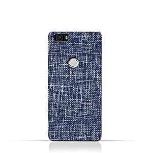 AMC Design Huawei Nexus 6p Silicone Case with Brushed Chambray Pattern