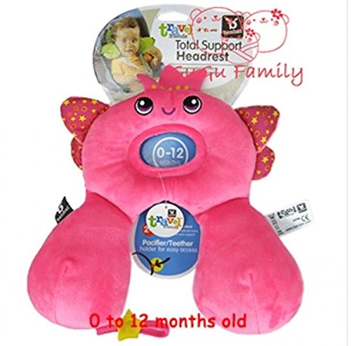 Benbat Travel Friends Baby Total Support Headrest 0-12 months Cartoon Animal Design baby/child Neck Pillow U Pillows (Angle S)