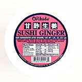 Orchids Sushi Ginger 6 oz each (5 Items Per Order, not per case)