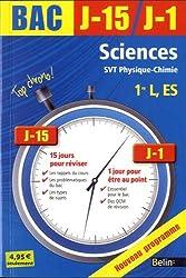 Sciences, SVT physique-chimie 1re L, ES