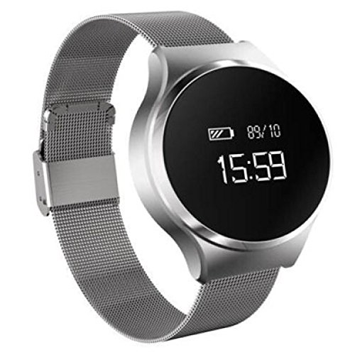NQFL Smart Bracelet Blood Pressure Metal Strap Heart for sale  Delivered anywhere in USA
