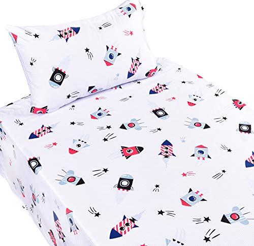 J pinno Spaceship Universe Children Pillowcase product image