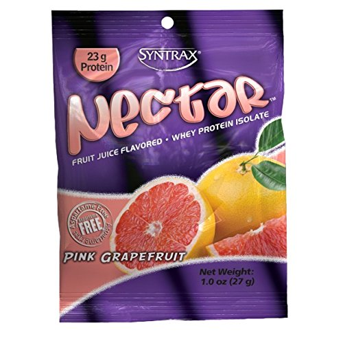 Syntrax Nectar Grab N Go, Pink Grapefruit, 1-Ounce Pouches (Pack of 12) by Syntrax