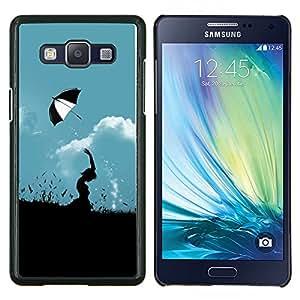 For Samsung Galaxy A5 A5000 Case , Vida flores tenaces desierto de girasol- Diseño Patrón Teléfono Caso Cubierta Case Bumper Duro Protección Case Cover Funda