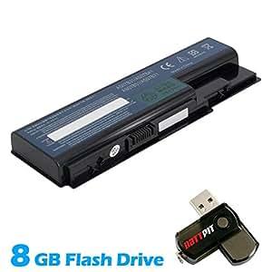 Battpit Bateria de repuesto para portátiles Acer Aspire 5930Z (4400mah / 48wh) Con memoria USB de 8GB GRATUITA