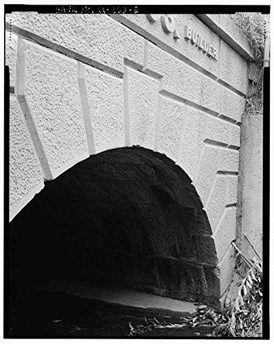 Photo: Cut Stone Bridge,Southern Pacific Railroad,San Francisco,California,CA,HABS,4 (Cut Stone Bridge)