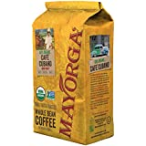 Cafe Cubano Dark Roast, 2 Pound, Whole Bean Coffee, Direct Trade, 100% USDA Organic Certified, Non-GMO, Kosher