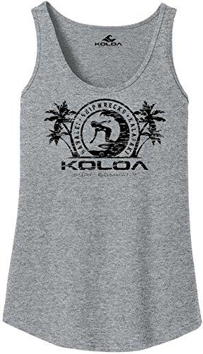 aaf445e918d5f Joe s USA Koloa Surfer Girl Logo Womens Tank Tops in 27 Colors. Adult Sizes