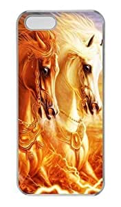 3D horse PC Transparent awesome For SamSung Galaxy S3 Phone Case Cover