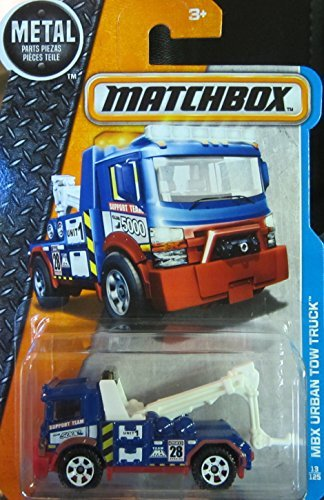 Matchbox, 2016 MBX Adventure City, MBX Urban Tow Truck [Blue] ()