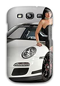 AIFOIXM8624lkELg ClaudiaDay Awesome Case Cover Compatible With Galaxy S3 - Girls And Cars