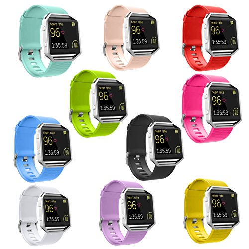 ANCOOL Silicone Wristbands Replacement Fitness