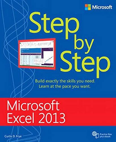Microsoft Excel 2013 Step By Step