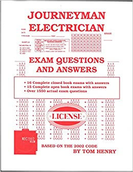 Journeyman Electrician Exam: Questions and Answers: Tom Henry ...