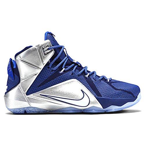 Nike Lebron XII Mens Lebron James Basketball Shoes 707781-410 (USM 10.5)