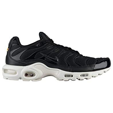 new products 53a63 b2cae Image Unavailable. Image not available for. Color  Nike Mens Air Max Plus  BR Tuned Air Sneakers New, Black Summit White 898014