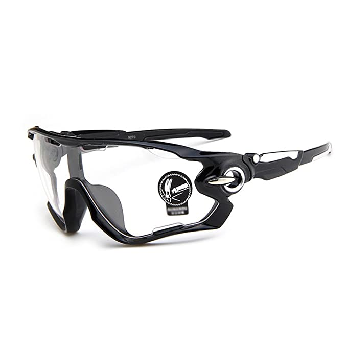 Gafas de sol Deportivas de Ciclismo Moto (Transparente) Forepin® pour Hombre et Mujer