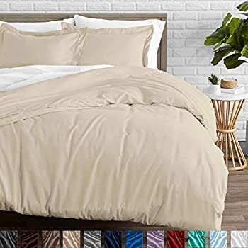 Amazon Com Bare Home Duvet Cover And Sham Set Twin Twin