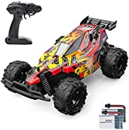 Holyton RC Cars, Remote Control Car 20 KM/H High Speed 2.4GHz 1:22 Scale Buggy, 60 Min Play 2 Rechargeable Bat