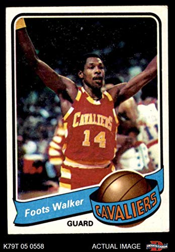 1979 Topps # 42 Foots Walker Cleveland Cavaliers (Basketball Card) Dean's Cards 4 - VG/EX Cavaliers