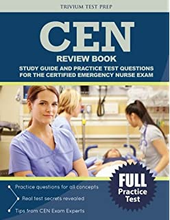 Certified pediatric emergency nurse cpen review manual cen review book study guide and practice test questions for the certified emergency nurse exam fandeluxe Choice Image
