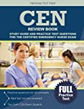 Introducing the new CEN Review Book. With easy to understand lessons and practice test questions designed to maximize your score, you'll be ready for the exam in no time. Every year, thousands of people think that they are ready for the Certi...
