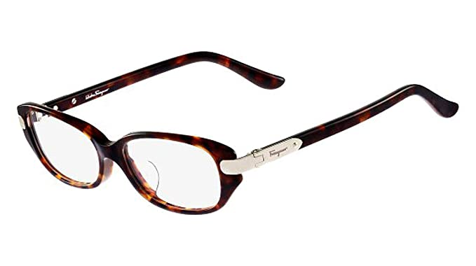 348878cbb7 Image Unavailable. Image not available for. Color  New Salvatore Ferragamo  Rx Eyeglasses ...