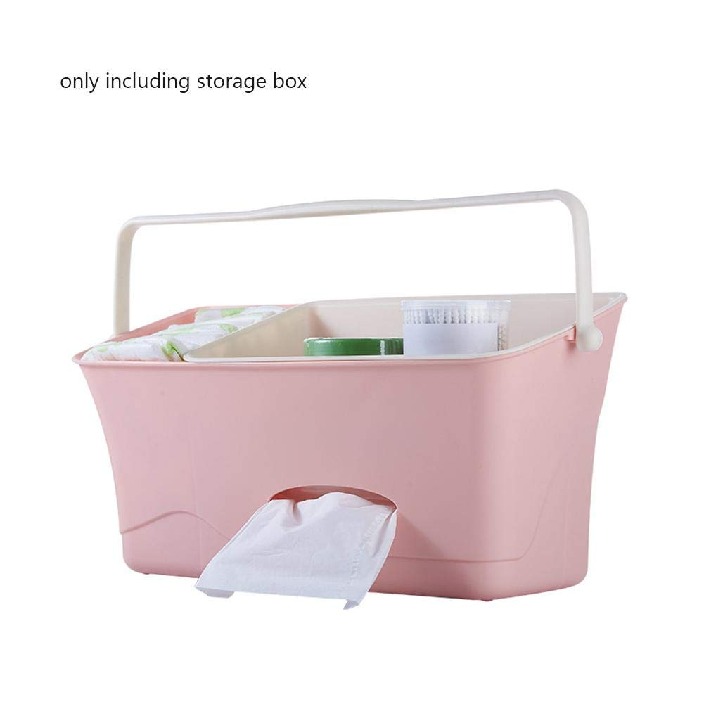Wetour baby hanging suspension diaper caddy organizer Basket, Bedside Storage Box Crib Cot Changing Table