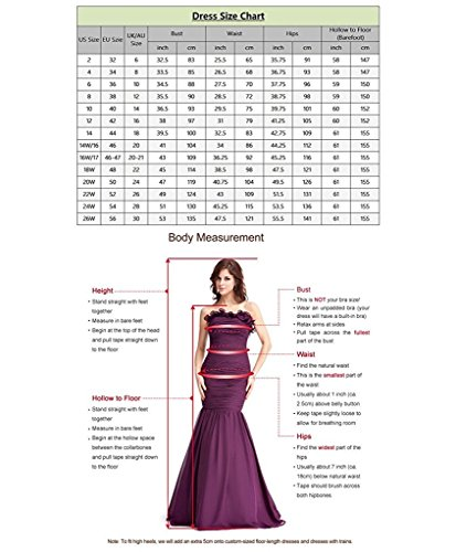 APXPF Mermaid Evening Dress Bridesmaid Gown Beaded Long Burgundy Women's Prom Formal rCnOBtqrx