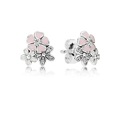 e18f1af93 Image Unavailable. Image not available for. Colour: Stonebeads Poetic  Blooms Stud Earrings in 925 sterling silver ...