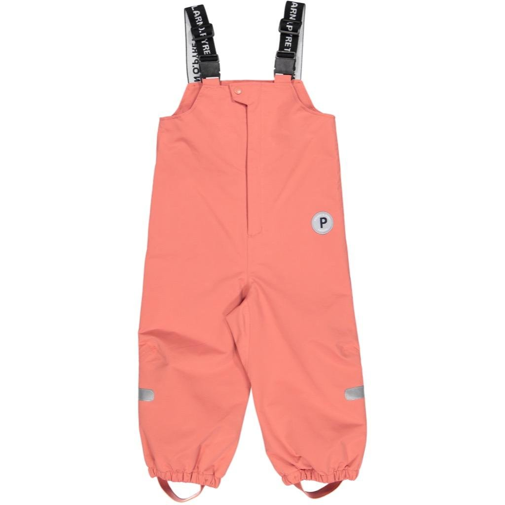 Polarn O. Pyret Waterproof BIB Shell Pants (Baby) - 9-12 Months/Faded Rose by Polarn O. Pyret