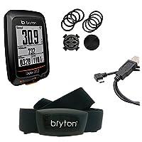 Bryton Rider 310H GPS Ciclismo, Nero, Taglia Unica