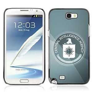 YOYOSHOP [CIA Eagle] Samsung Galaxy Note 2 Case