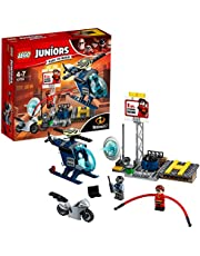 LEGO Juniors/4+ The Incredibles 2 Elastigirl's Rooftop Pursuit 10759 Playset Toy