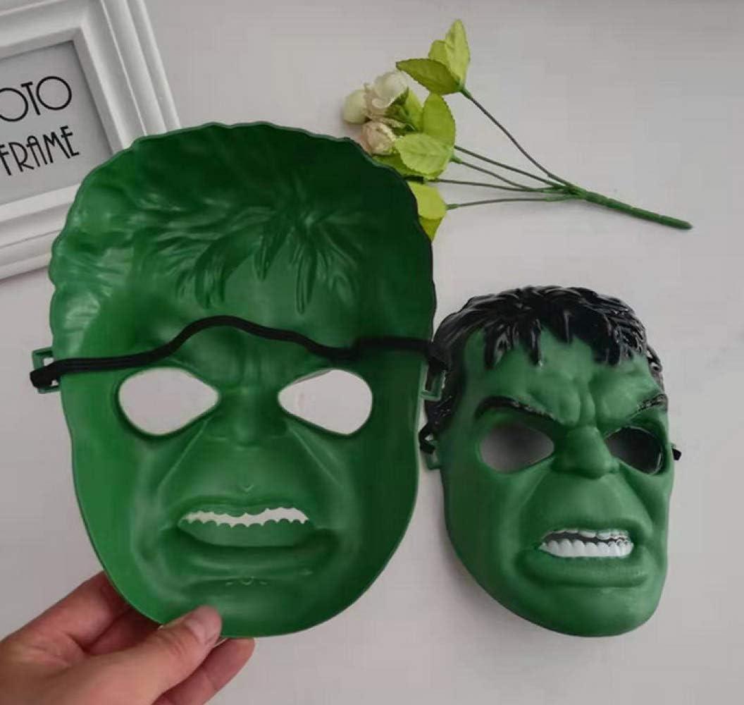 ZHIHONG Hulk Mascara animación Festival Disfraz Dibujo Animado ...