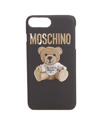 14088de199 Moschino Women's A792583051081 Black Acrylic Cover: Amazon.co.uk ...