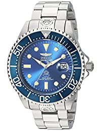 Grand Diver Stainless Steel Case and Bracelet Blue Tone DIal Date Display