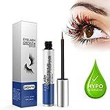Eyelashes Growth Serum, Eyelash and Eyebrow Enhancer Serum for Long, Thick Lashes and Eyebrows (0.17FL.OZ / 5ml)