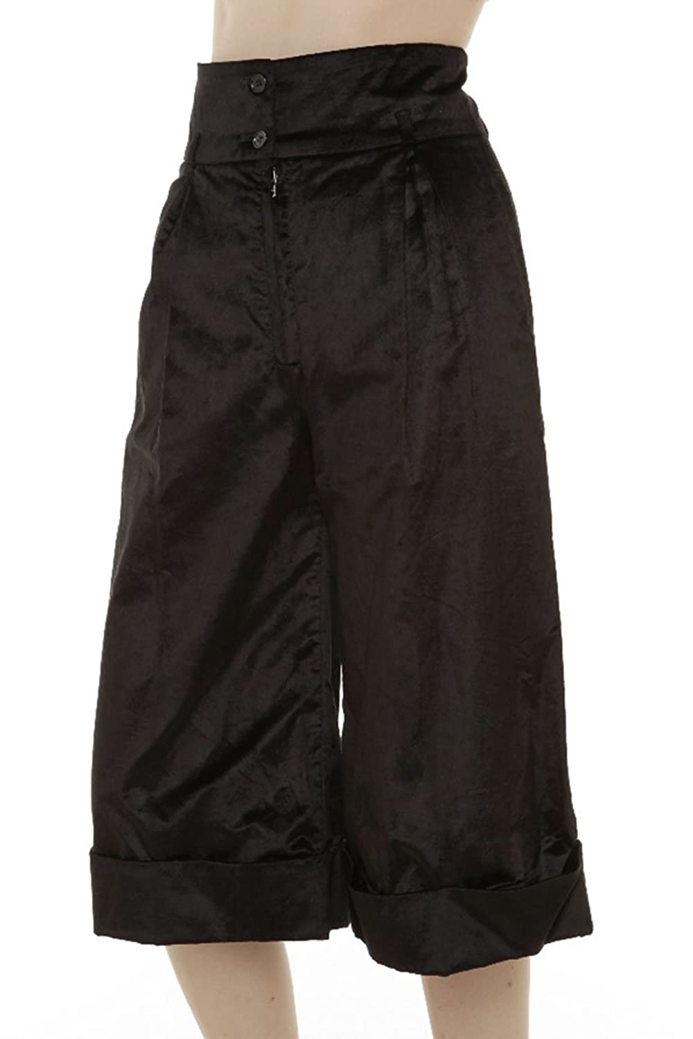 Dolce & Gabbana Womens Pants Trousers, 40, Black