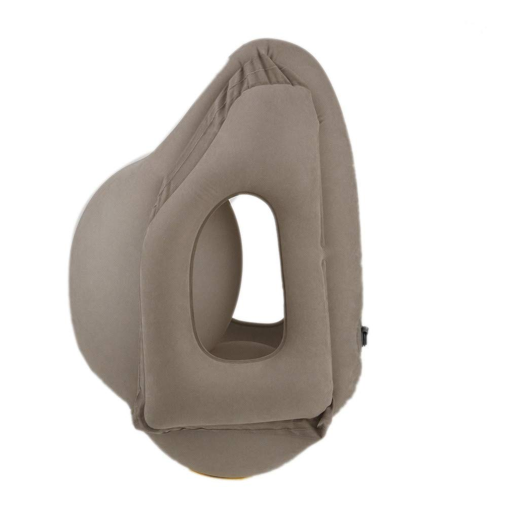 toorwarakorn.3152 Travel Pillow Inflatable Pillows Portable Blow Comfortable Innovative Products for Airplanes Home Office Car