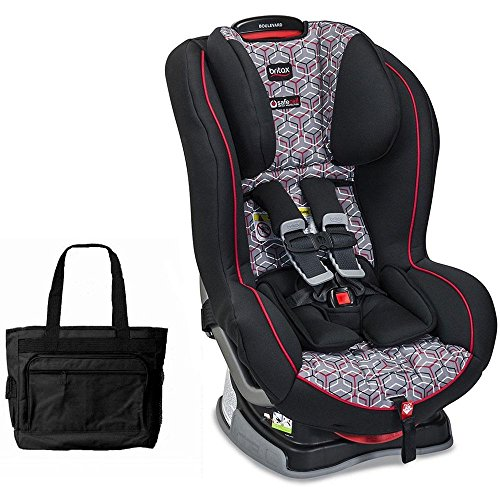 Britax Boulevard G4 1 Convertible Car Seat - Baxter with Bonus Stylish Diaper Bag by Britax USA