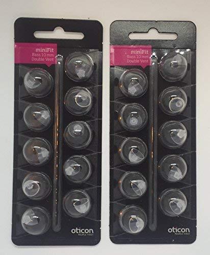 10mm double vent Oticon 20 - Double Vent