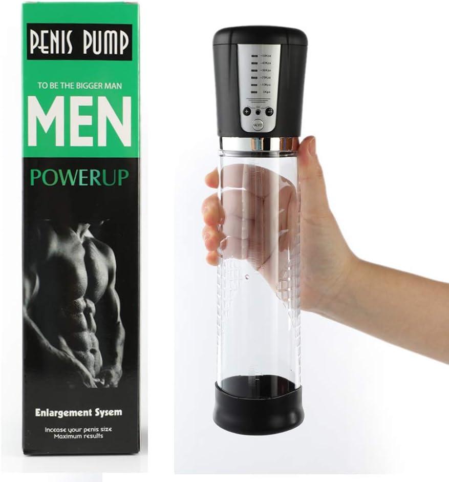 Aeterna Male Effective Pênīspump Air Vacuum Pump, 5 Mode Adjustable Suctions Medical Pump for Men