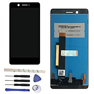 LCD Display Touch Screen Digitizer Assembly For Nokia 7 N7 IPS (black)