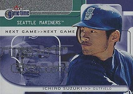 5286f1dd0d Amazon.com: 2001 Fleer Game Time - ICHIRO Suzuki - Next Game ...